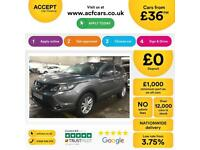 NISSAN QASHQAI GERY HATCHBACK 1.5 1.7 DCI ACENTA PREMIUM FROM £36 PER WEEK!