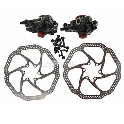 - AVID BB7 Bike Bicycle Mechanical Disc Brake Front and Rear Caliper 160mm Rotor