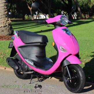 PGO LIGERO 50 MOPED! 0% FINANCE AVAILABLE! RIDE AWAY TODAY!