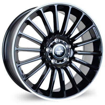 4x Alufelgen KESKIN KT15 8x18 5/112 ET45 BLACK LIP POLISH Audi/VW/Mercedes NEU