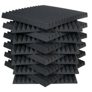 ARUALEX ACOUSTIC STUDIO SOUND FOAM PANELS AND BLOCK BASS TRAPS