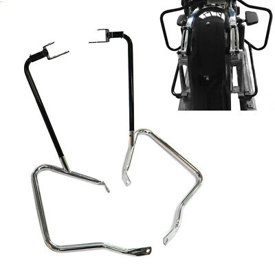 Saddlebag Bracket Guard Bars For Harley Touring Street Glide Road King 2014-2018, used for sale  USA