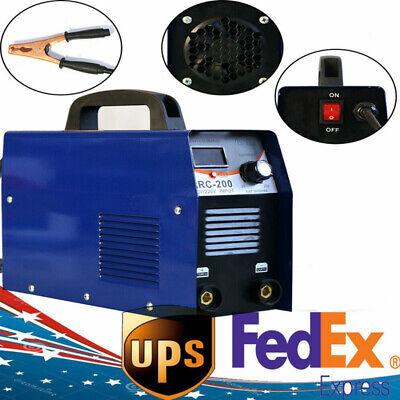 110v Dc Inverter Welder Mini Handheld Arc Welding Machine Mma 20-200 Amp Igbt Us