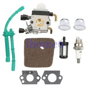 Fuel Line Carburetor kit Fit STIHL FS38 FS45 FS55 String Trimmer