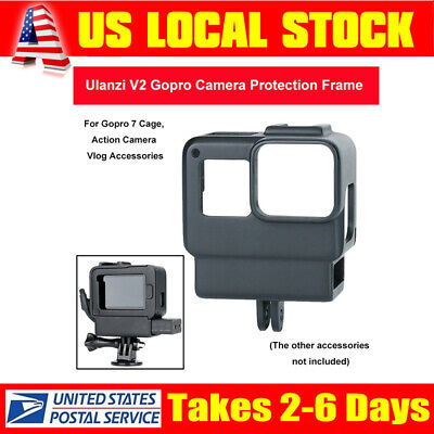 Protective Cage (Ulanzi V2 Camera Protective Cage for Action Camera Hero 5 6 7 Vlog Accessories )