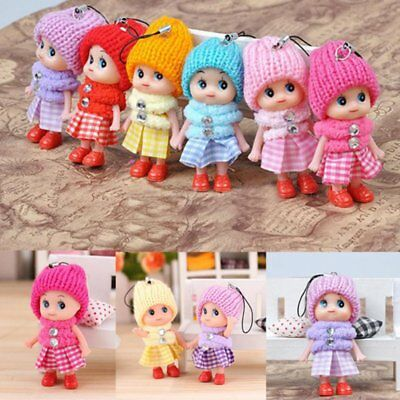 5Pcs Kids Toys Soft Interactive Baby Dolls Toy Mini Doll For Girls and Boys Gift - Cheap Girl Toys