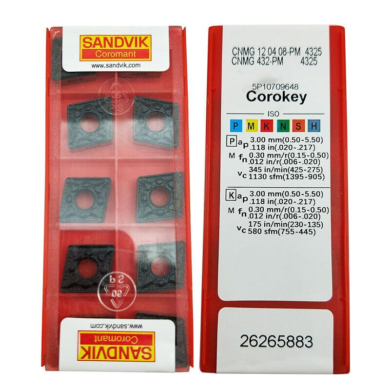 10* CNMG120408-HA H01 CNMG432HA Aluminum blade Carbide Inserts CNC for Aluminum