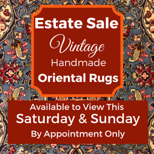 Oriental and Persian Rugs Estate Sale