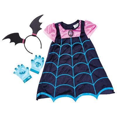 Disney Junior Vampirina Boo-tiful Dress Up Costume NEW](Boo Disney Costume)