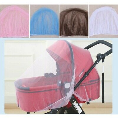 Pink Baby Prams - Infant Baby Stroller Pushchair Pram Mosquito Fly Insect Net Mesh Buggy Cover