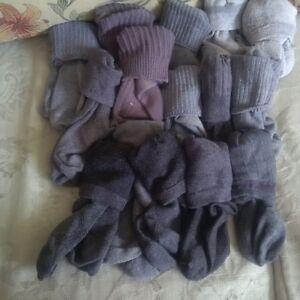 BOYS GREY socks, 15 PAIRS