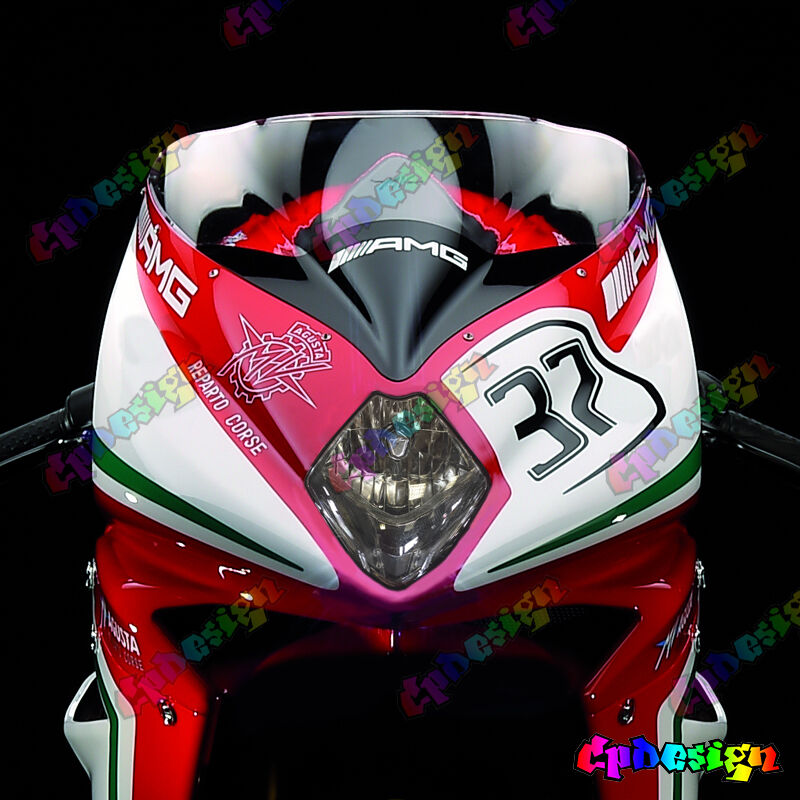 kit adesivi fari mv agusta f4 f3 replica sbk moto sticker racing
