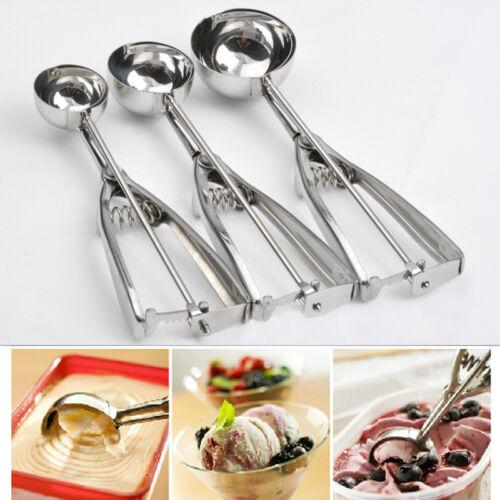 3 Size Stainless Steel Kitchen Ice Cream ...