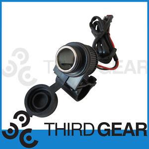 Motorbike Handlebar Mount 12V Power Socket Charger Fit Yamaha XT600 XT660 Tenere
