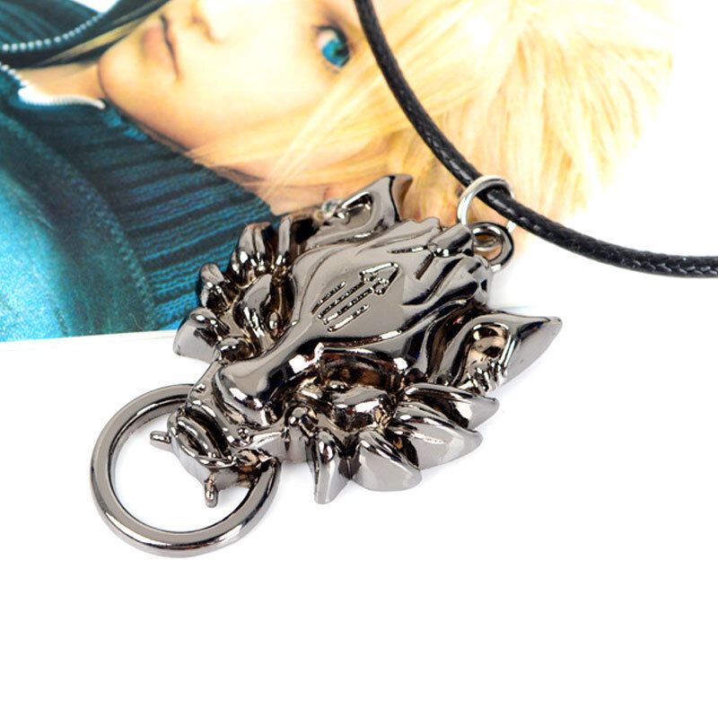 New Anime Final Fantasy VII 7 FF Cloud Wolf Ring Alloy Metal Ring with Box