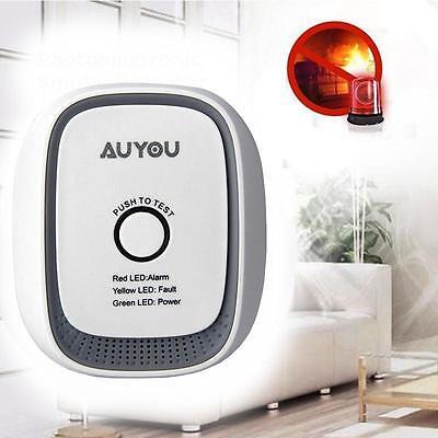 Smart Gas Leak Detector Propane Butane Methane Natural Gas Safe Alarm Sensor