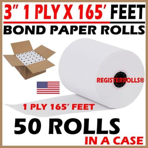 STAR MICRONICS SP700 3 1 PLY X 165 BOND PAPER 50 ROLLS KITCHEN PRINTER ROLLS