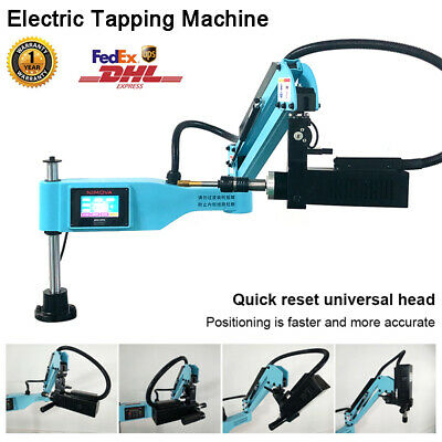 Universal 360 Electric Tapping Machine Flexible Arm M3-m16 Chuck Iso 3 Modes