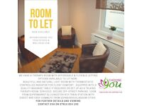 Therapy Room to Let within a Yoga Studio/Wellness Hub
