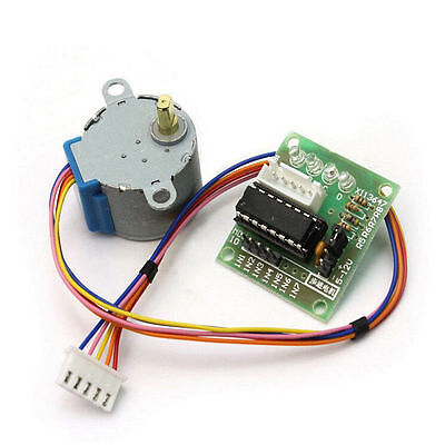 5 Set Dc 5v Stepper Motor 28byj-48 Uln2003 Driver Test Module Board F Arduino