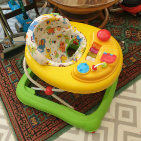 Red Kite Baby Infant Walker space saver w tous