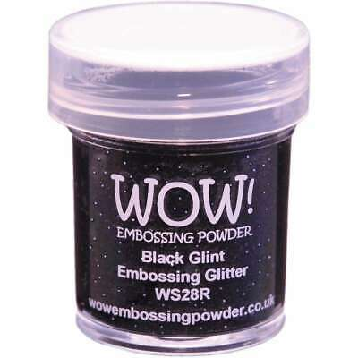 WOW! Embossing Powder 15ml Black Glint 5060210521417