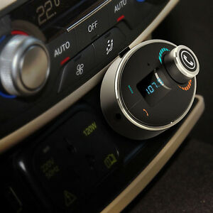 Car Bluetooth Cigarette Lighter MP3 Player FM Transmitter Wireless Charger