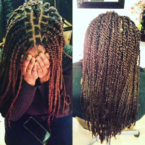 Box Braids -Weaves 70$ avail.sameday 438-338-7376 West Island Greater Montréal image 5