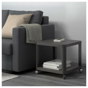IKEA Side table on casters