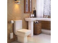 PURE 4PC BATHROOM SUITE - ONLY £170.00 - CHEAP PRICE EVER.