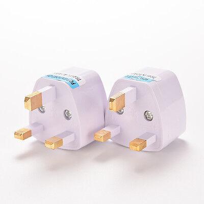 Universal Travel Adapter AU US EU to UK 3 Pin AC Power Plug Adaptor Connector Xg