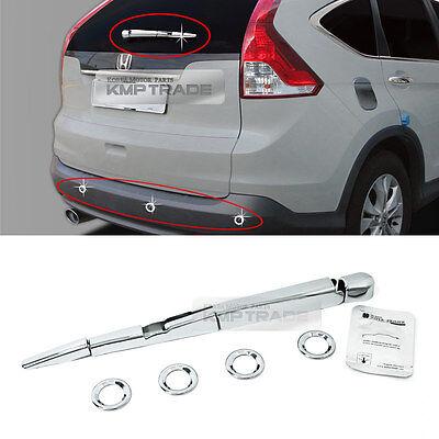 For Honda CR-V CRV 2007-11 S Stainless Car Window Center Pillar Post Cover Trim
