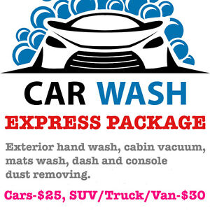 EXPRESS PACKAGE FROM $25! TAX INCLUDED