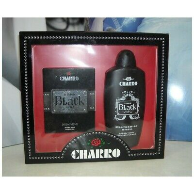 Belebende Gel (El Charro Parfums Black For Mann Eau De 50 ML Edp + Gel Duschen Belebende C)