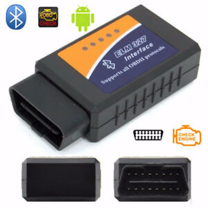 OBD2 II ELM327 Bluetooth Diagnostic Scanner Tool for Android
