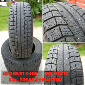 Used 15 inch Winter Tires - 195/60/15