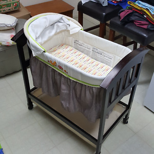 Bassinet, Exersaucer, Jolly Jumper, Swing Chair, and more.