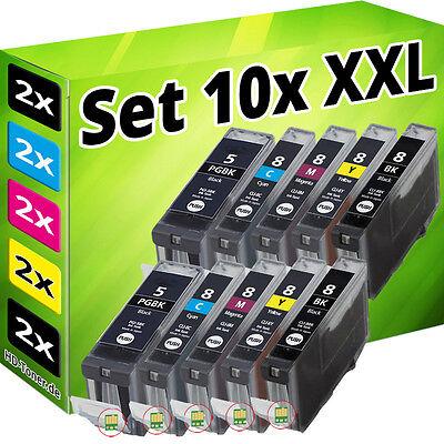 10x PATRONEN CHIP für CANON IP3300 IP3500 IP4200 IP5200R IP4300 IP4500 MP970 SET online kaufen