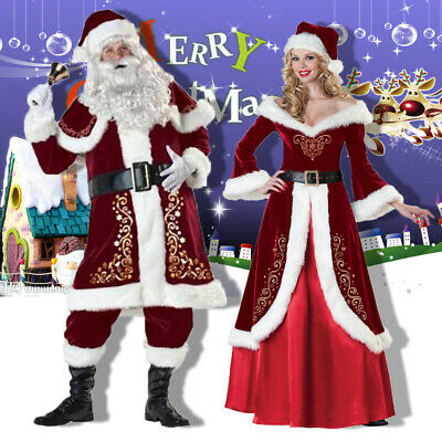Santa Claus Kostüm für Erwachsene Kostüm Cosplay Party - Hund Kostüme Für Weihnachten