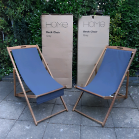 Two Sun bed chair, deck chair