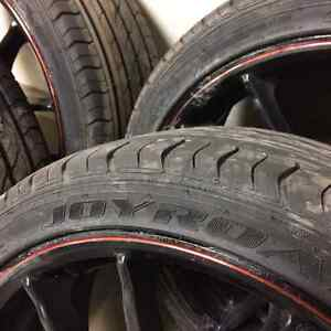 Street Gear Wheels with new Joyroad 205/R40XL performance tires Regina Regina Area image 4