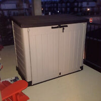 Storage Shed, 1 month old, asking $200.00