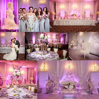 Decor, Flowers, Video, Photography, Photo Booth, DJ, Limo