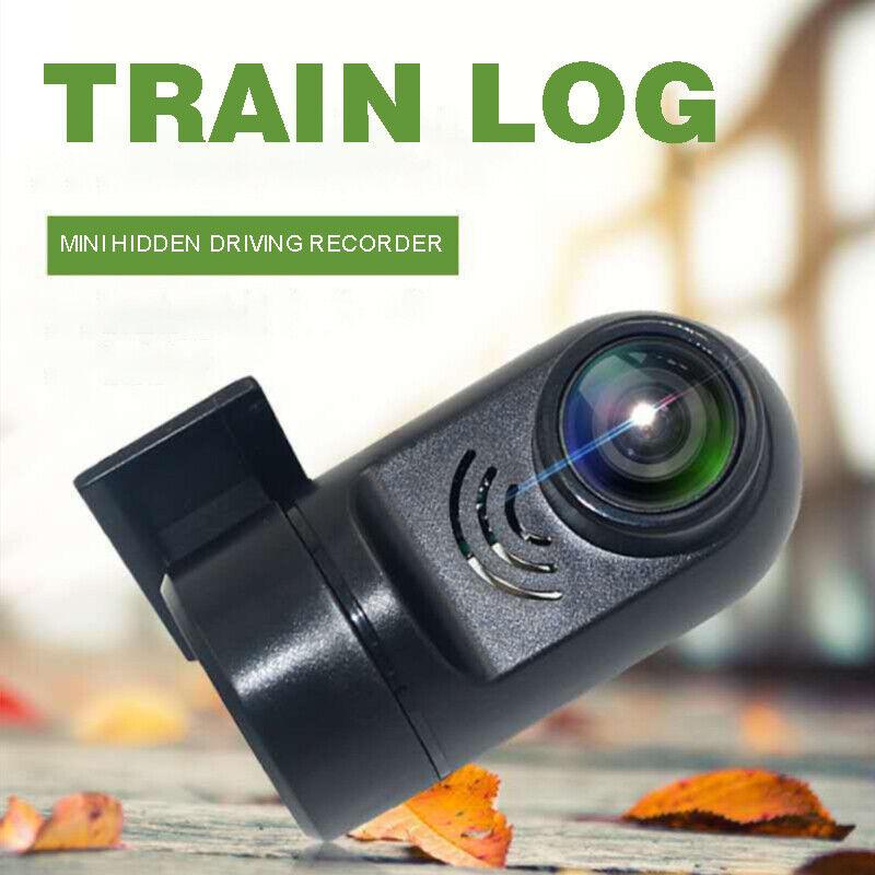 Mini 1080P USB Connect Car Hidden DVR Dash Cam Camera Video