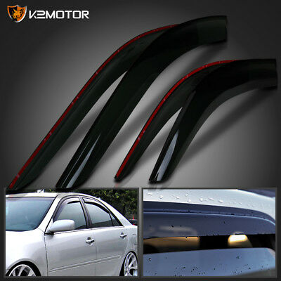 For 2002-2006 Toyota Camry Window Visors Rain Guard Vent Sun Shade Deflector 4PC