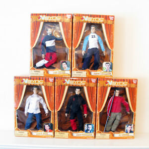 NSYNC Marionette Dolls Figures Complete Set of 5 Living Toyz