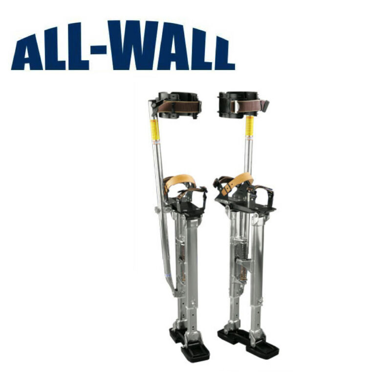 "Dura-Stilts Dura-IV 24""-40"" Drywall Stilts Adjustable, HIGHEST QUALITY **NEW**"