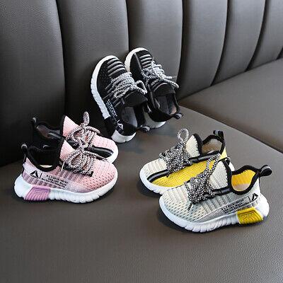 Jungen Mädchen Atmungsaktiv Sportschuhe Kinderschuhe Turnschuhe Sneaker Gr.21-30