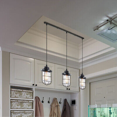 Kitchen Island Ceiling Lighting Fixture - New Modern Pendant Light Glass Cage Ceiling Lamp Lighting Fixture Kitchen Island