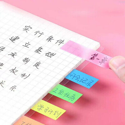 Colored Memo Pad Lovely Sticky Paper Note School Office Supplies W4nswixiyr